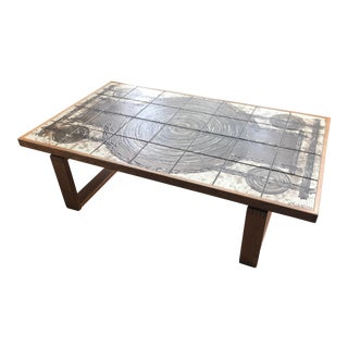 Trioh Ox Art Coffee Table For Sale
