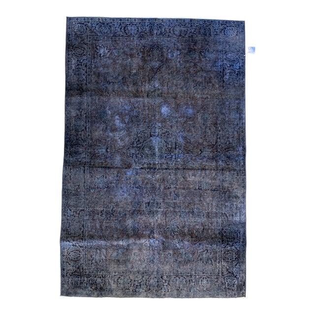 1940s Turkish Silk Rug For Sale
