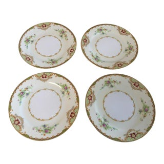 1980 Empress China Cake Plates - Set of 4 For Sale