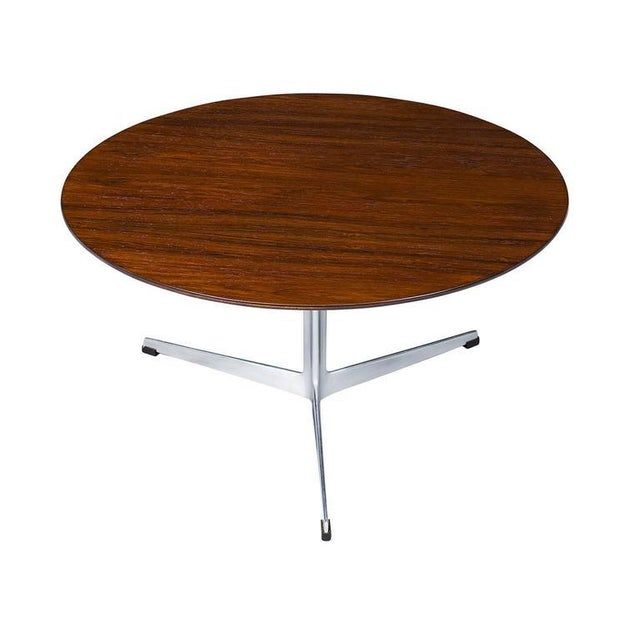 Contemporary Arne Jacobsen Rosewood Coffee Table For Sale - Image 3 of 7