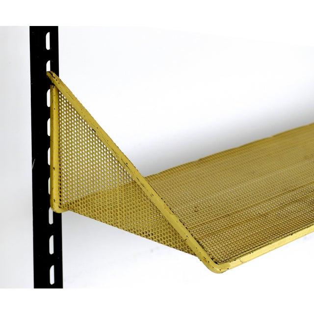1950s 1950s Mathieu Mategot Wall Shelf With Adjustable Shelves For Sale - Image 5 of 8