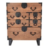 Image of 19th Century Japanese Tansu With Hand Forged Hardware For Sale