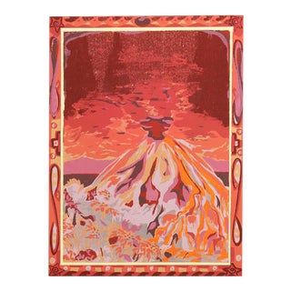 """1979 """"Tropical Volcano"""" Limited Edition Serigraph For Sale"""