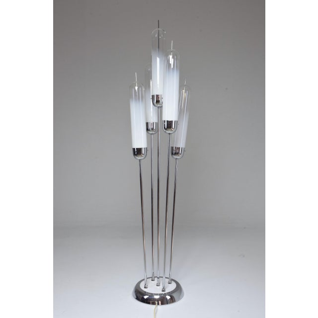 20th Century Floor Lamp in Murano Glass by Carlo Nason for Mazzega, 1970s For Sale - Image 13 of 13