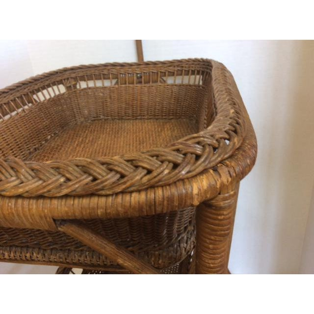 Rattan Basket Stand - Image 9 of 11