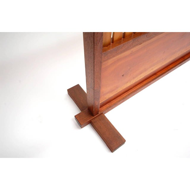 Small Japanese Style Room Divider by Teruo Hara For Sale - Image 8 of 9