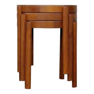 Vintage Danish Modern Nesting Tables - Set of 3