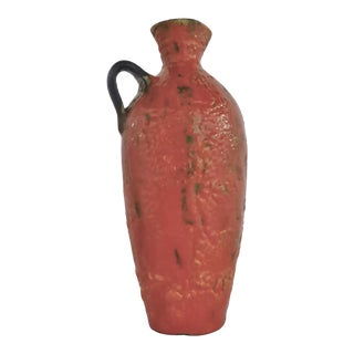 Mid 20th Century Hungarian Lava Glaze Ewer For Sale