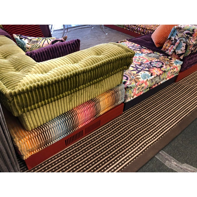 2010s Missoni Mah Jong Sectional by Roche Bobois For Sale - Image 5 of 13