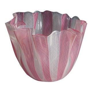 1950s 'Fazzoletto Zanfirico' Fulvio Bianconi Vase For Sale