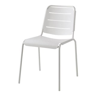 Cane-Line Stackable Copenhagen City Chair, White For Sale