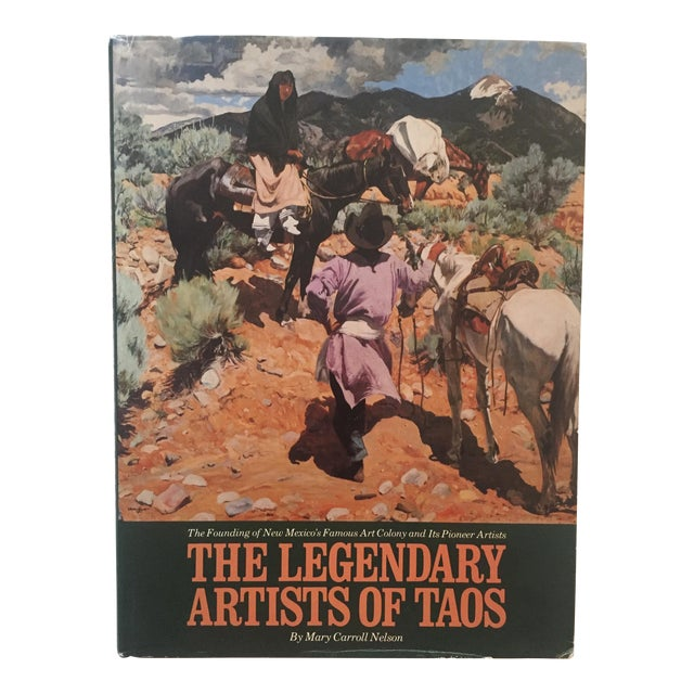 "Vintage ""The Legendary Artists of Taos"" 1st Edition Book For Sale"