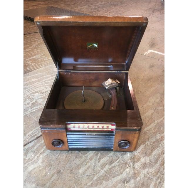 1940's Rca Victor Victrola Radio Record Player - Image 2 of 11