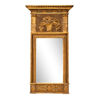 Regency Classical Giltwood Mirror, Circa:1825, England For Sale