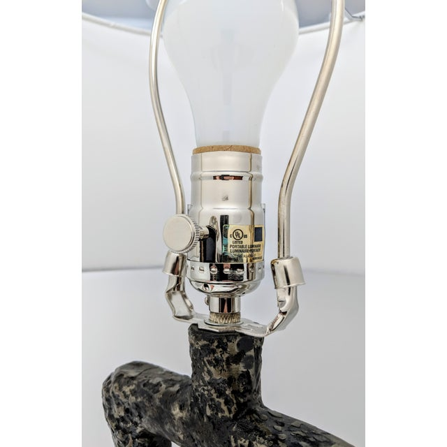 Cast Iron Arteriors Home Packard Cast Iron Table Lamp For Sale - Image 7 of 12