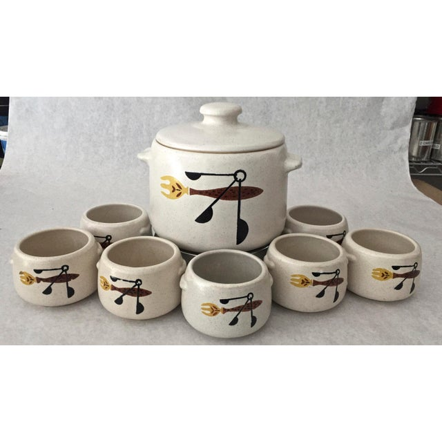 A Mid Century 1960's West bend Electric Stoneware Buffet Patio Server. 2 Qt slow cooker, warmer, server for your next...