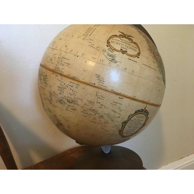 "1990s Vintage 1990 Replogle World Classic Series 12"" Diameter Globe For Sale - Image 5 of 13"
