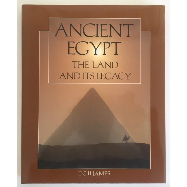 """ Ancient Egypt the Land & Its Legacy "" Vintage 1990 Cultural Arts Hardcover Book For Sale - Image 9 of 10"