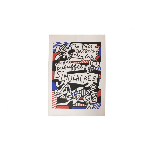 Jean DuBuffet Original Lithograph - Simulacres Pace Gallery New York For Sale - Image 10 of 10