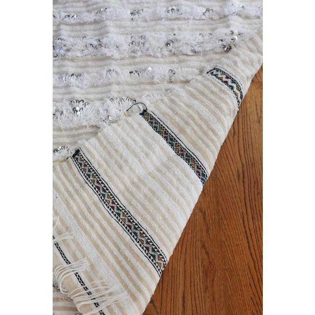 Moroccan Wedding Blanket - Image 7 of 7