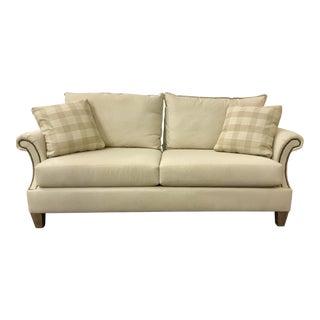 Kincaid Co. Transitional Beige Sofa For Sale