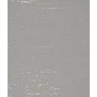 Grey With Metallic Lines Wallcovering For Sale