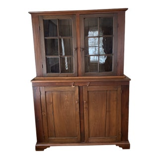 19th Century Early American Hutch For Sale