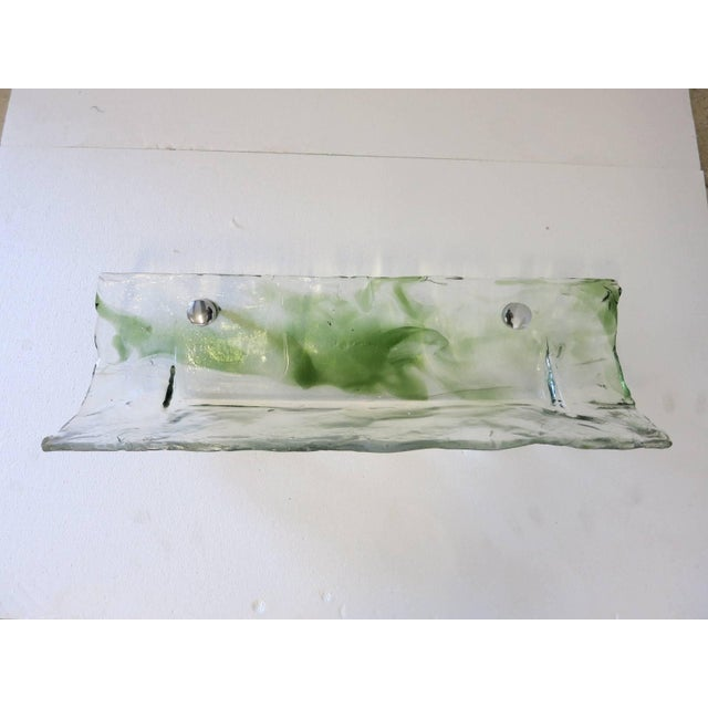 Italian Murano Glass Bathroom Set by Mazzega For Sale - Image 11 of 13