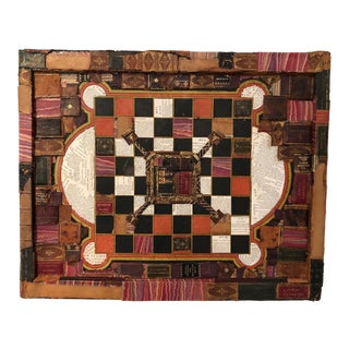 Fay Sciarra Mixed Media Gameboard Collage Wall Art For Sale