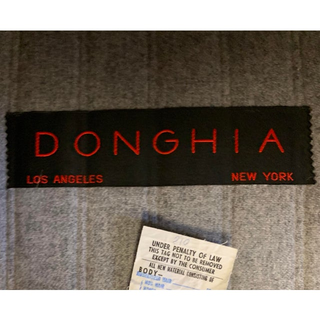 Donghia by John Hutton Gray Sofa For Sale - Image 12 of 13