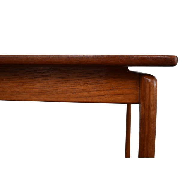 1960s Vintage Danish Modern Teak Coffee Table by Ole Wanscher for Poul Jeppesen For Sale - Image 5 of 6