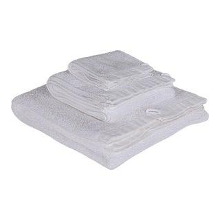 Matteo Riviera Greige 3 Piece Towel Set For Sale
