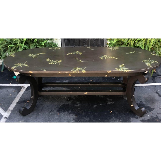 Patina Furniture Inc. Hand Painted Italian Dining Table For Sale In Los Angeles - Image 6 of 7