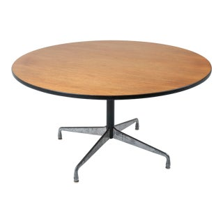 1970s Vintage Eames for Herman Miller Aluminum Group Dining Table For Sale