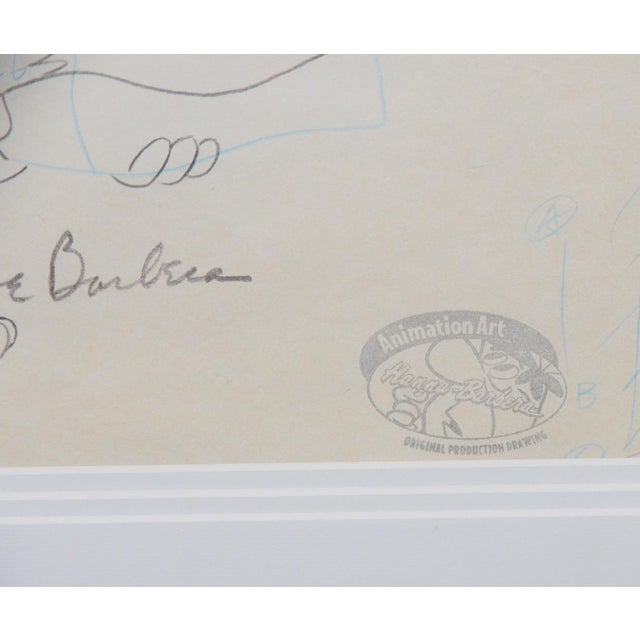 Late 20th Century Barney Rubble - Original Animation Art Signed by Hanna & Barbera C.1993 For Sale - Image 5 of 10