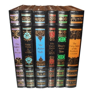 1st Edition - Illustrated Classic Fairy Tales - Set of 6 - Easton Press - Still in Factory Seal and Box