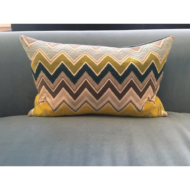 Custom Schumacher Zenyatta Lumbar Pillow - Image 2 of 7