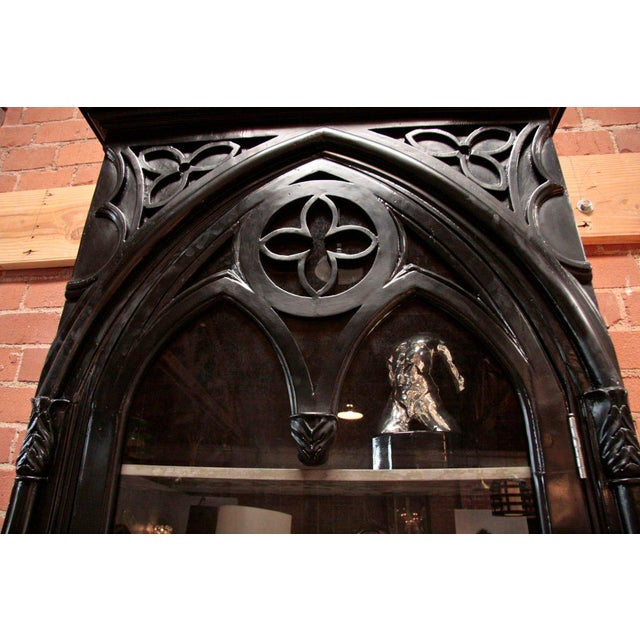 Mid 19th Century Italian 19th C. Gothic Cabinet For Sale - Image 5 of 11