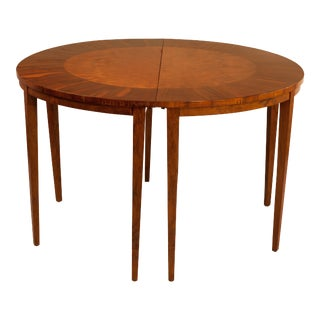 Demilune Tables, Georgian Style - A Pair For Sale