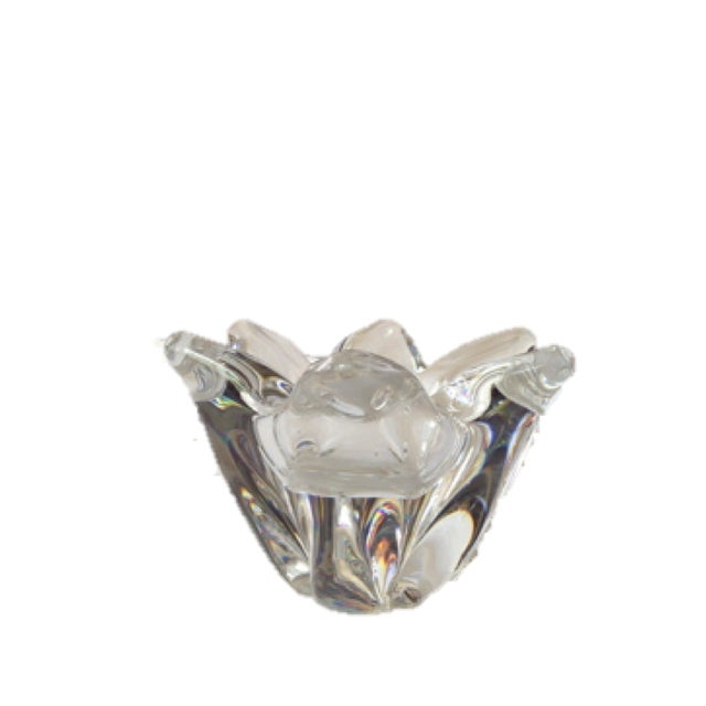 Vintage Baccarat Crystal Flower - Image 2 of 4