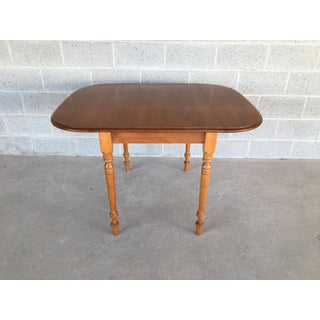 Hitchcock Solid Maple Harvest Paint Decorated Drop Leaf Table Preview