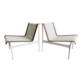 Richard Schultz for Knoll Mesh Garden Lounge Chairs - a Pair For Sale