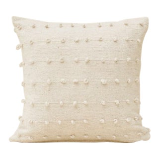 Loops Cream Pillow Cover For Sale