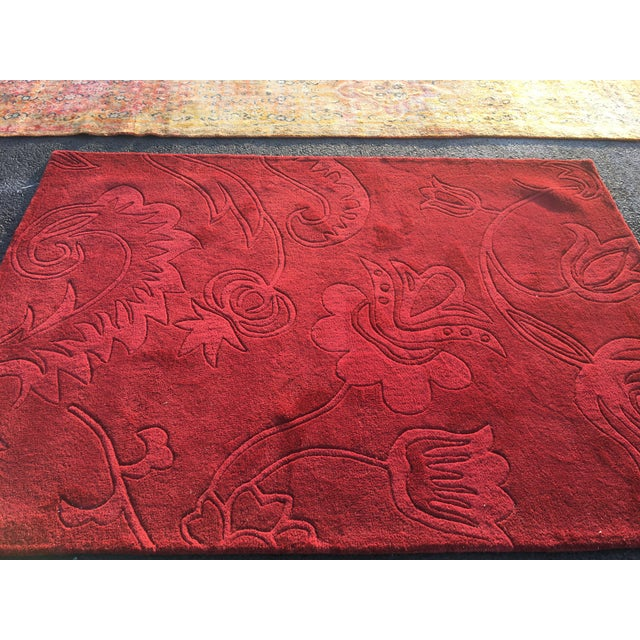 "New Soft Hand Tufted Rug - 5'3""x7'5"" - Image 3 of 7"