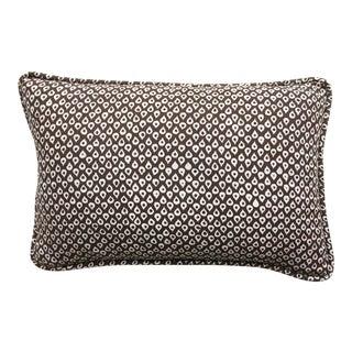 "Katherine Rally Mud Hut Brown ""Mandawa"" Batik Lumbar Pillow For Sale"