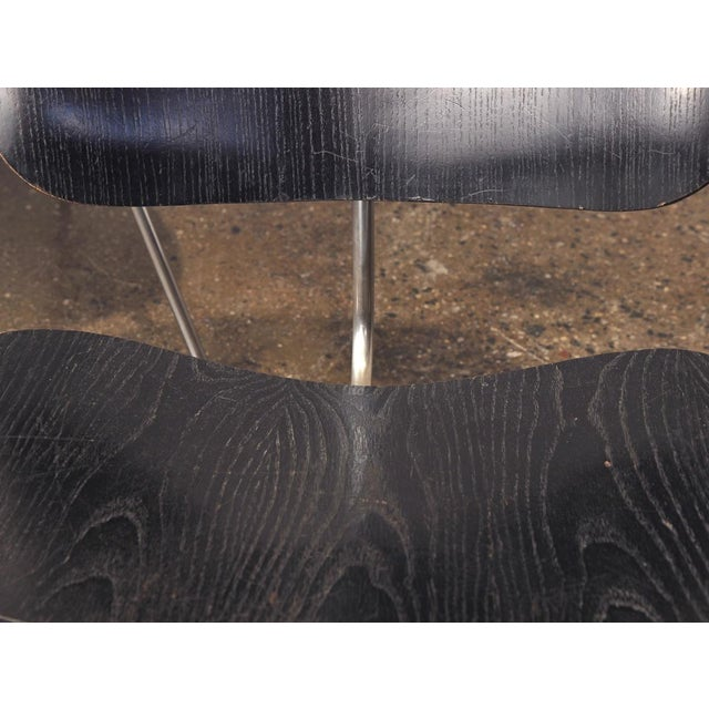 Black 1950s Black LCM by Charles and Ray Eames for Herman Miller - a pair For Sale - Image 8 of 8