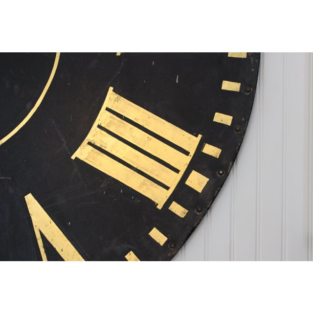 Monumental Tower Clock Face For Sale In New York - Image 6 of 8