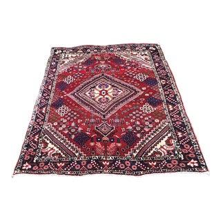 Antique Turkish Handmade Wool Rug - 2′7″ × 4′9″