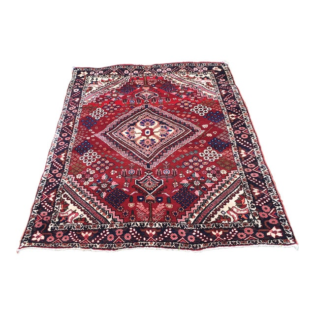 Antique Turkish Handmade Wool Rug - 2′7″ × 4′9″ For Sale
