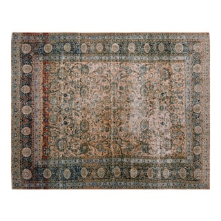 Vintage Persian Kashan Rug - 9'8″ x 12'6″ For Sale